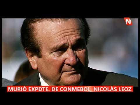 Murio el expresidente de la CONMEBOL, Nicolas Leoz