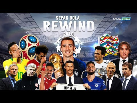 Youtube Rewind Sepak Bola 2018 ⚽️ Starting Eleven