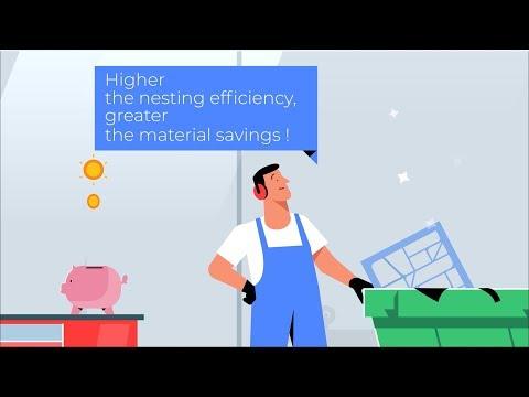 Phần mềm tối ưu hóa cắt thép Nest&Cut