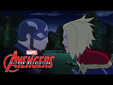 "Marvel's Avengers: Ultron Revolution Season 3 ""Civil War"" Finale – Clip 1"