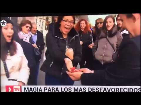 Magia Solidaria en TeleMadrid