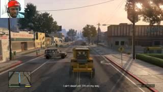 Grand Theft Auto 5 Walkthrough Part 107 - BIG TIME HEIST | GTA 5 Walkthrough