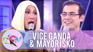 Vice Ganda tells Isko Moreno that he is the most handsome Mayor in the Philippines | GGV