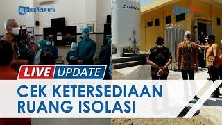 Gubernur Jateng Ganjar Pranowo Tinjau Ketersediaan Bed di RSUD Karanganyar: Ada Tren Penurunan