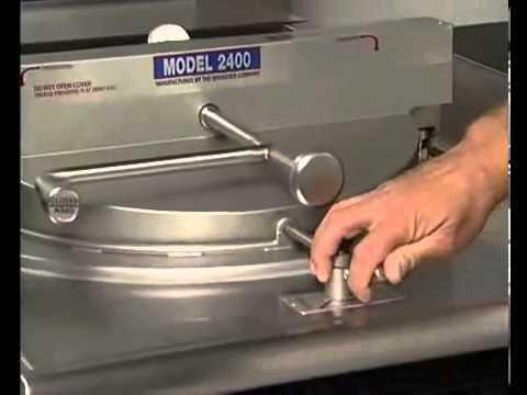 video 1, Friteuse à pression électrique 1600 (EQBR1600ST)