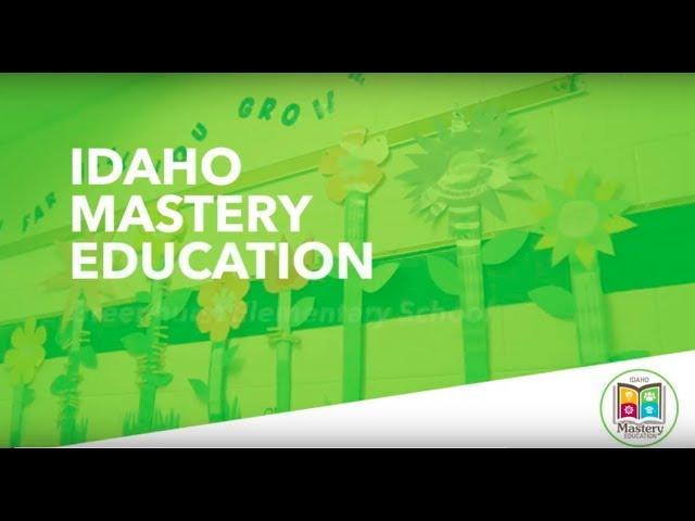 Idaho Mastery Education in action video