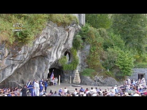 Chapelet du 15 août 2020 à Lourdes