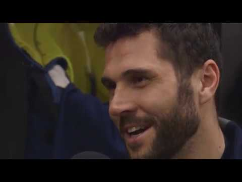 Olivia Fries Asks Brian Gionta About His Favorite Hockey Moment  |  Sabres Jr. Reporter