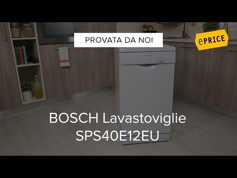 Video Recensione Lavastoviglie Bosch SPS40E12EU