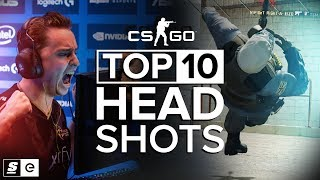 The Top 10 Headshots in CS:GO