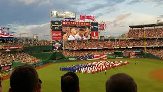 2018 All-Star Game Anthem and flyover
