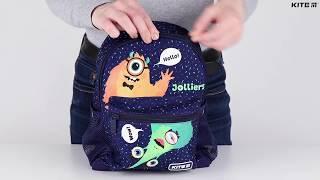 """Рюкзак детский Kite Kids Jolliers K20-534XS-4 ( 3-5 лет) от компании Интернет-магазин """"Радуга"""" - школьные рюкзаки, канцтовары, творчество - видео"""