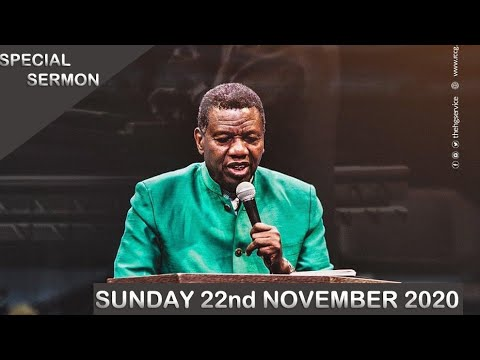 RCCG 22nd November 2020 Sunday Service With Pastor Adeboye