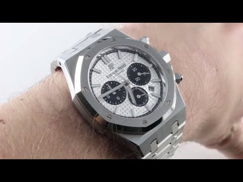 Audemars Piguet Royal Oak Chronograph 26331ST.OO.1220ST.03 Luxury Watch Review