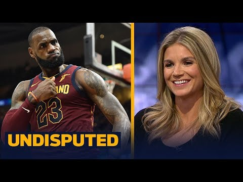 Allie Clifton on Cavs' hot topics: Kevin Love, JR Smith and LeBron 'all-time best' | UNDISPUTED