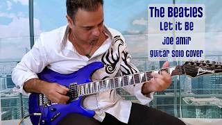 LET IT BE  The Beatles   Joe Amir   Guitar Cover Instrumental Solo  Ferry Aid Version