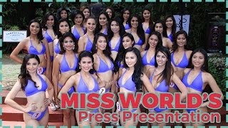 Miss World Philippines 2016 Press Presentation