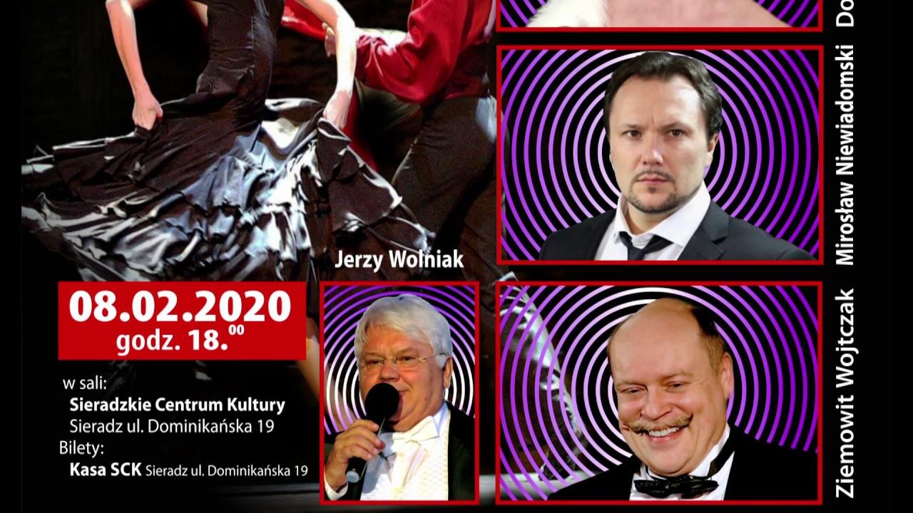 Zapowiedź koncertu Jerzego Wolniaka w Teatrze Miejskim w Sieradzu