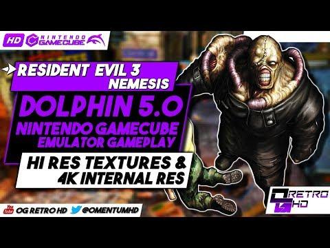 Resident Evil 3 Gamecube HD | Dolphin EMU Gameplay | Hi Res