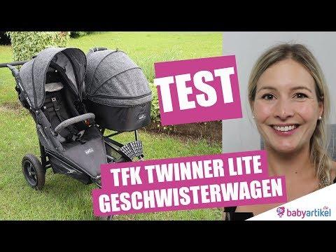 TFK Twinner Lite Premium Geschwisterwagen - Zwillingswagen  im TEST | babyartikel.de