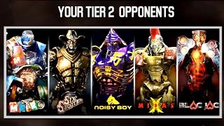 Real Steel FINAL TAG TEAM 3 VS 3 - TIER 2 ROBOTS Series of fights NEW ROBOT (Живая Сталь)