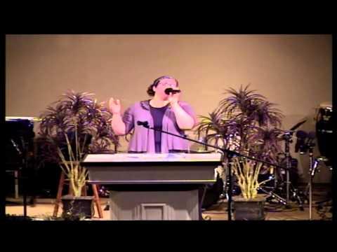 Norfolk Apostolic Church Emily Everage Singing 07-07-13 P.M.