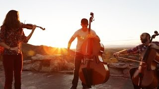 Fix You  Clocks   Coldplay (violincellobass Mashup)   Simply Three