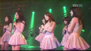Girls' Generation (SNSD) - SBS Baby Baby Live 1080p