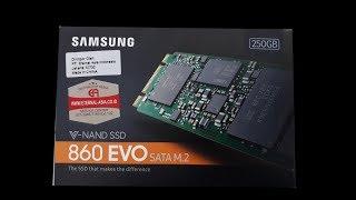 SSD Samsung 250GB M2-SATA EVO 860
