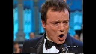 """Video thumbnail of """"Massimo Ranieri - Rose Rosse, Vent' Anni, Erba Di Casa Mia, Perdere L'Amore (1996)"""""""