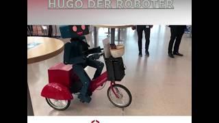 Hugo hilft - Roboter Unterstützung auf der Messe