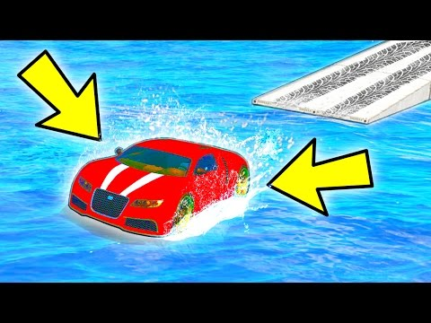 CAN YOU DRIVE ON WATER IN GTA 5? (Unbelievable)