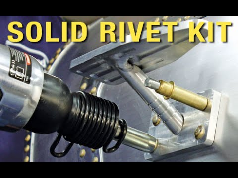 Solid Rivet Kit - Aircraft Grade Rivets For Your Car - Custom Metal Fabrication With Eastwood