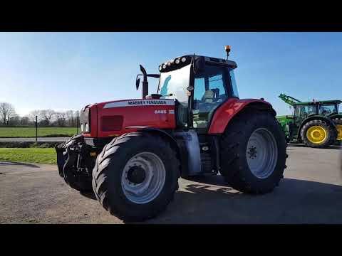 Tracteur MASSEY FERGUSON 6495 N°122255 (2005)