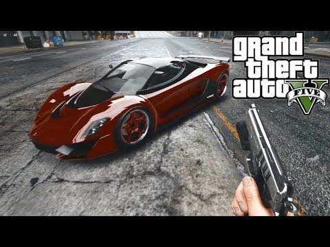 GTA V CON GRÁFICOS ULTRA REALISTAS!! GRAND THEFT AUTO 5 MODS ¿GTA 6?