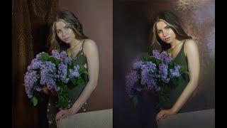 Быстрый способ создать художественный портрет из фотографии с неудачным (или скучным) фоном