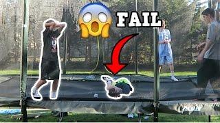 WORST DOUBLE BACKFLIP FAIL!!