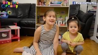Học Tiếng ý /Learning Italian/ LyLy Nói Màu Sắc Bằng 3 Thứ Tiếng