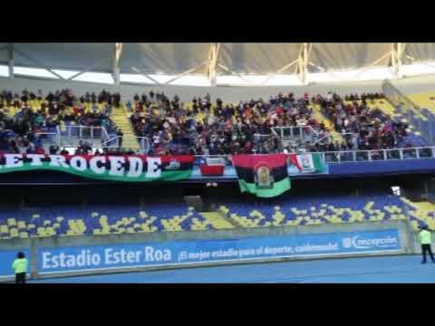 """""""Los Sin Nombre (Lota Schwager) de visita ante Deportes Concepcion amistoso 19 de agosto 2017"""" Barra: Los Sin Nombre • Club: Lota Schwager"""