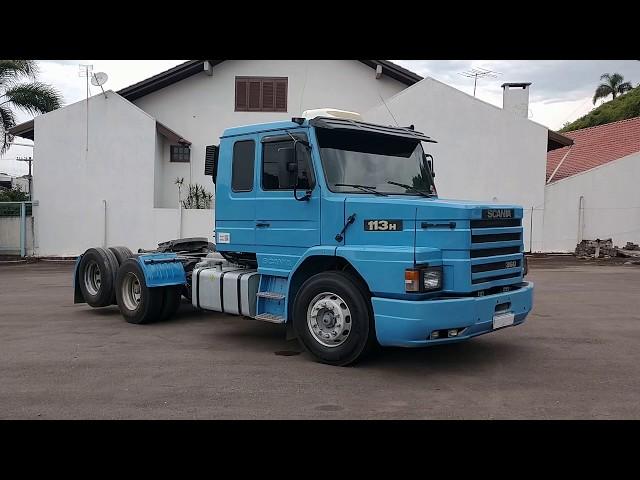 Vídeo do caminhão T113 H360 6x2