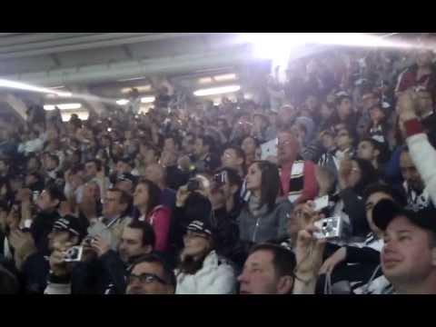 Juventus-Roma 22/04/2012 - Annuncio formazioni e inno