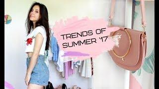 ТРЕНДЫ ЛЕТА 2017   Что я ношу этим летом? Стильно и дешево
