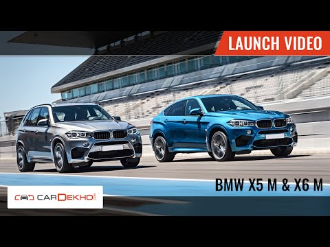 BMW X5 M and X6 M | Launch Video | Cardekho.com