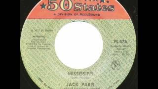 """Jack Paris """"Mississippi"""""""