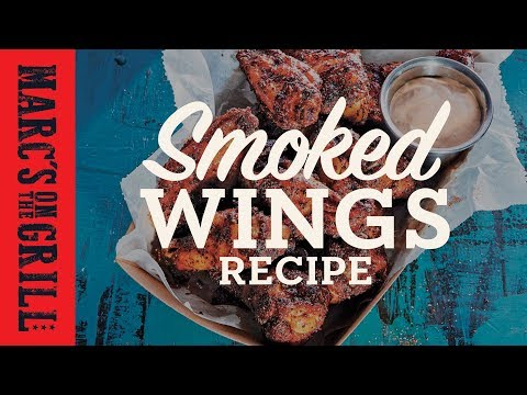 Best Smoked Grilled Wing Recipe