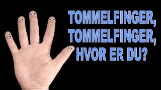 Tommelfinger, tommelfinger, hvor er du? | Sang og animasjon