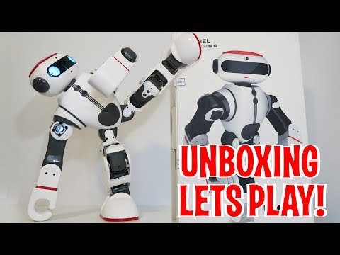 Unboxing & Let's Play – DOBI by WLtoys – Humanoid Robot Review – Intelligent Toy like Cozmo!