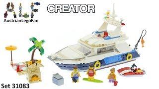 Lego Creator 31083 Cruising Adventures - Lego Speed Build Review