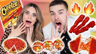 FLAMIN HOT CHEETOS MUKBANG Challenge w/ MATPAT! thumbnail