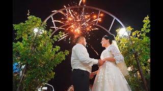 Свадебный клип с венчанием